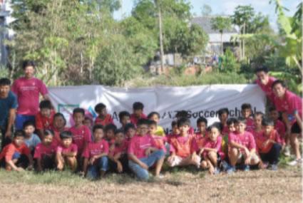 フリーサッカースクール開校