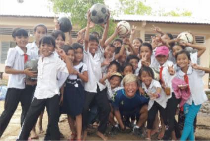 サッカーを習いたい!!